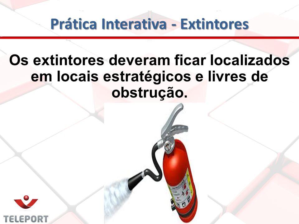 Prática Interativa - Extintores