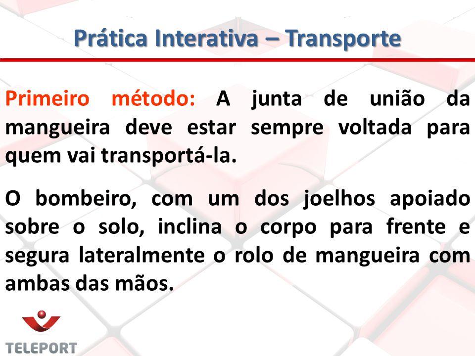 Prática Interativa – Transporte
