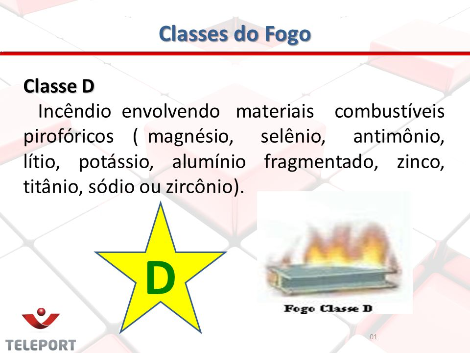 D Classes do Fogo Classe D