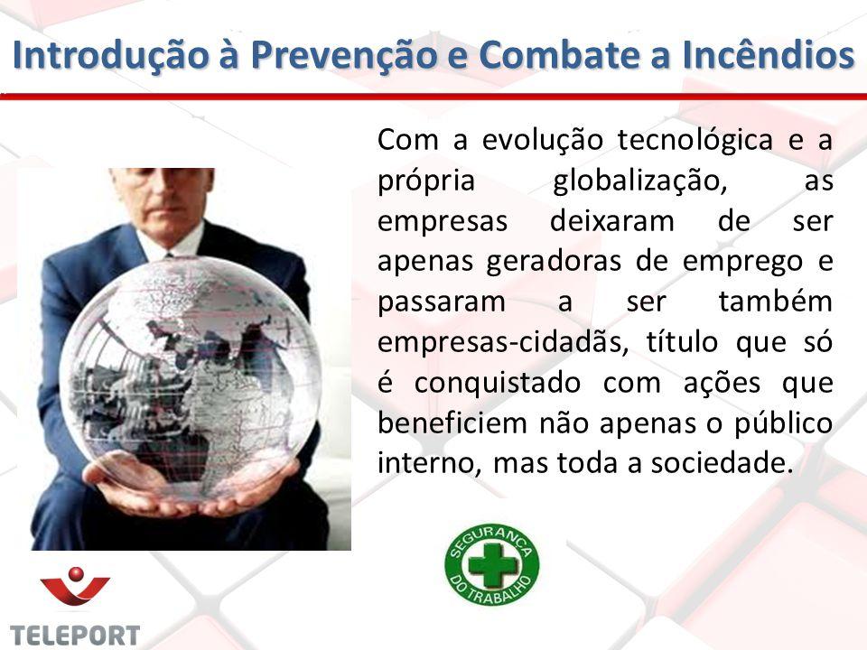 Introdução à Prevenção e Combate a Incêndios