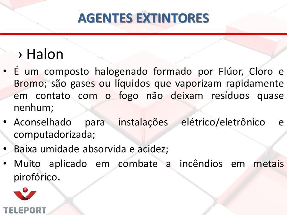 Halon AGENTES EXTINTORES