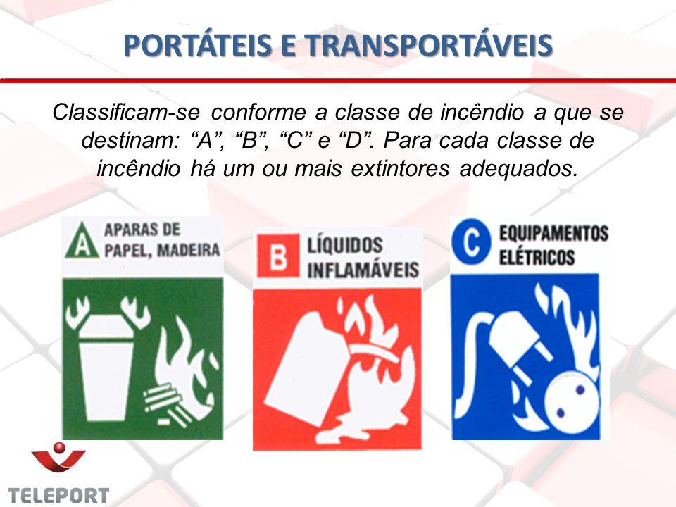 PORTÁTEIS E TRANSPORTÁVEIS