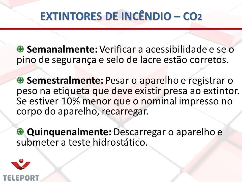 EXTINTORES DE INCÊNDIO – CO2