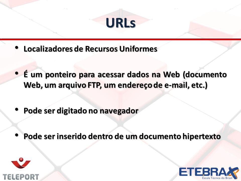URLs Localizadores de Recursos Uniformes