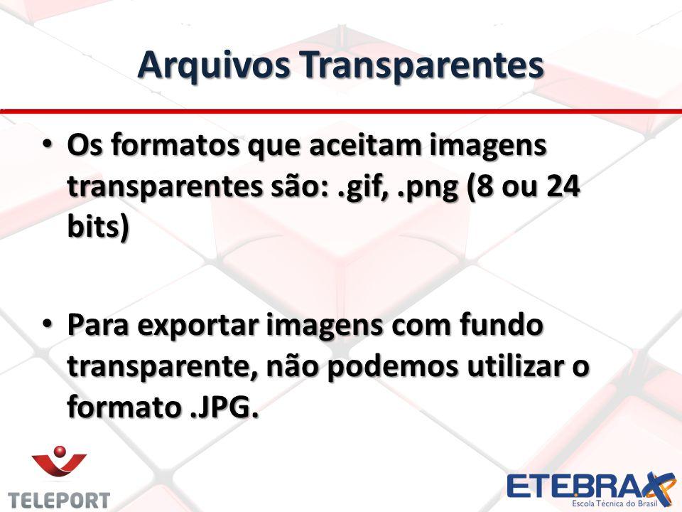 Arquivos Transparentes