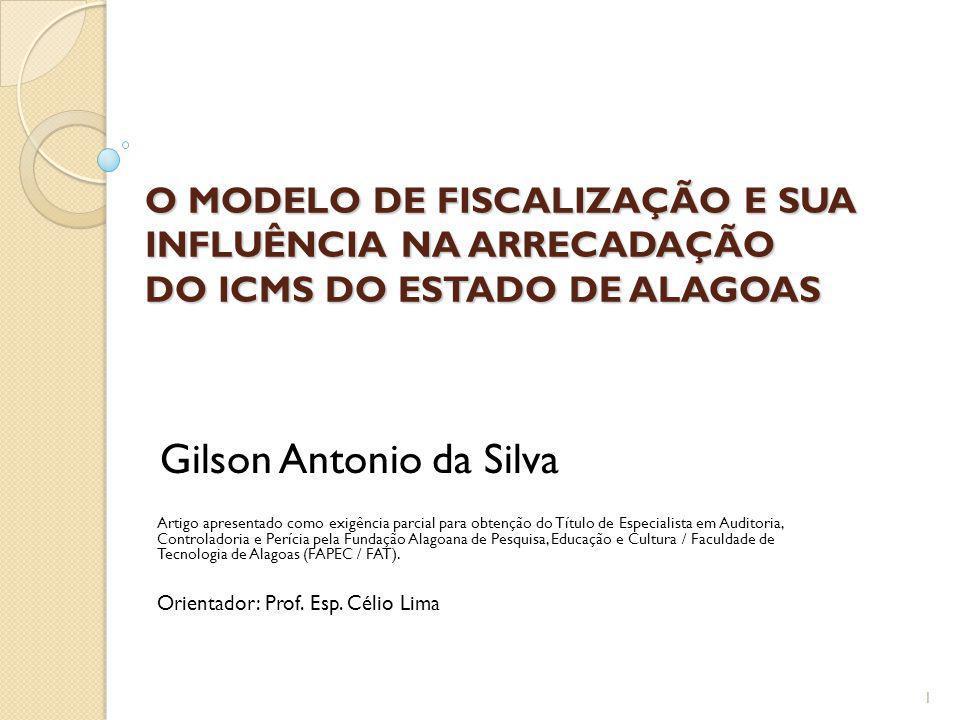 O MODELO DE FISCALIZAÇÃO E SUA INFLUÊNCIA NA ARRECADAÇÃO DO ICMS DO ESTADO DE ALAGOAS
