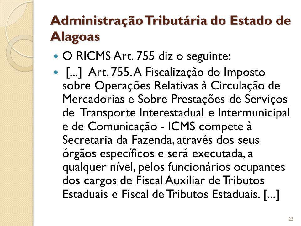 Administração Tributária do Estado de Alagoas