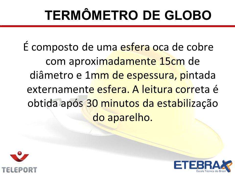 TERMÔMETRO DE GLOBO