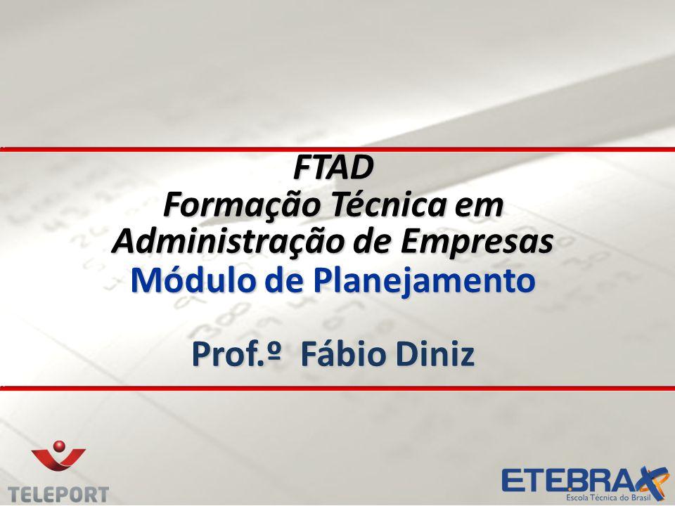 FTAD Formação Técnica em Administração de Empresas