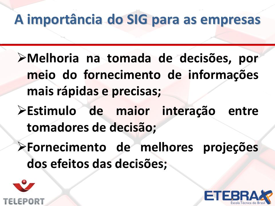 A importância do SIG para as empresas