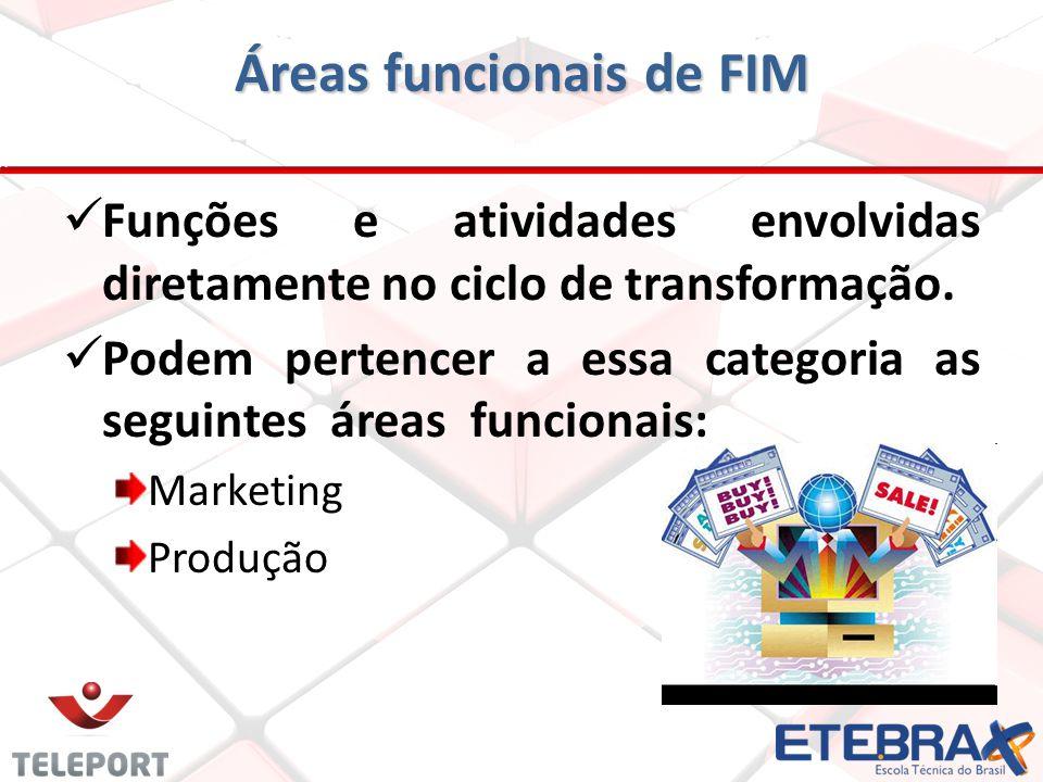 Áreas funcionais de FIM