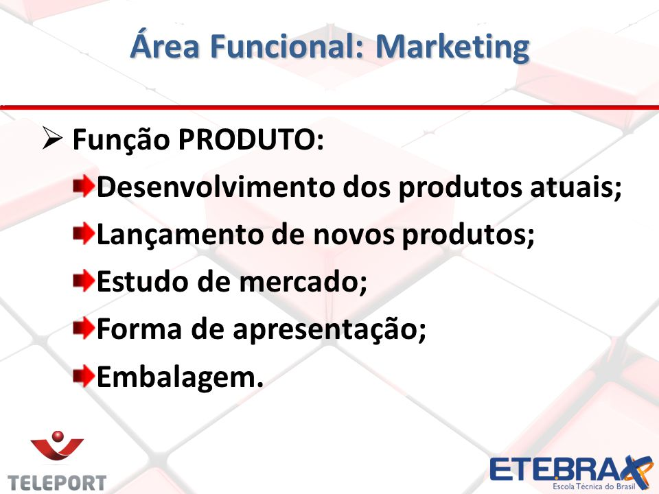 Área Funcional: Marketing