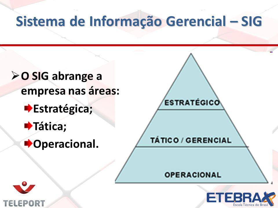 Sistema de Informação Gerencial – SIG
