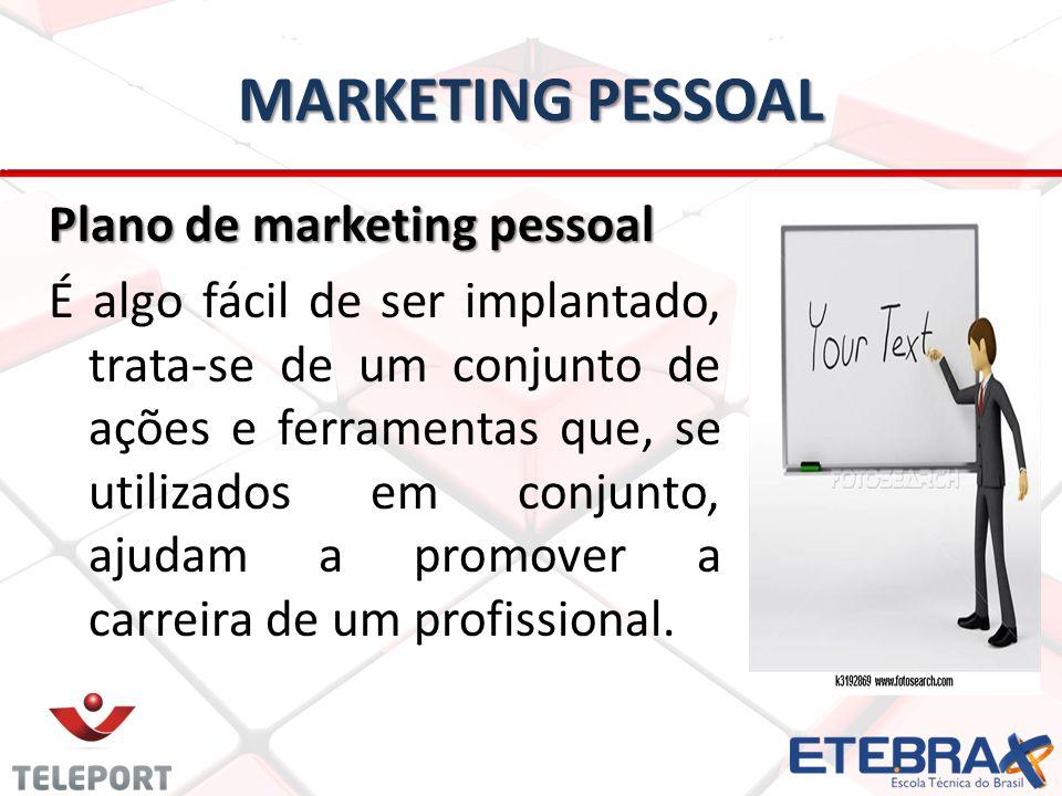 MARKETING PESSOAL Plano de marketing pessoal