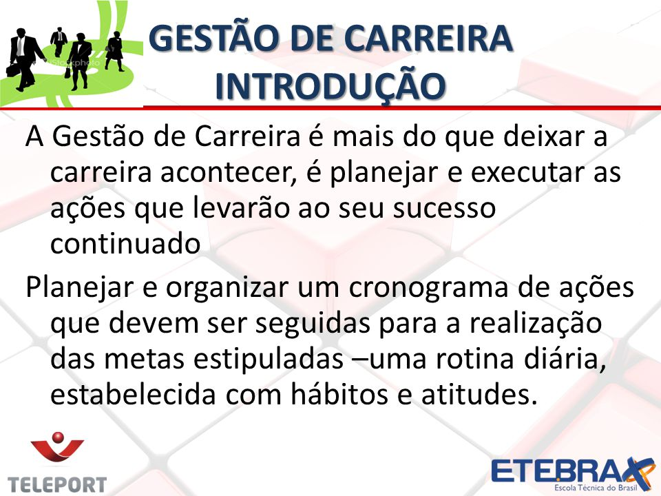 GESTÃO DE CARREIRA INTRODUÇÃO