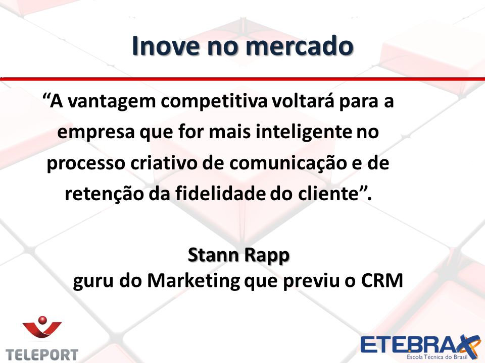 guru do Marketing que previu o CRM
