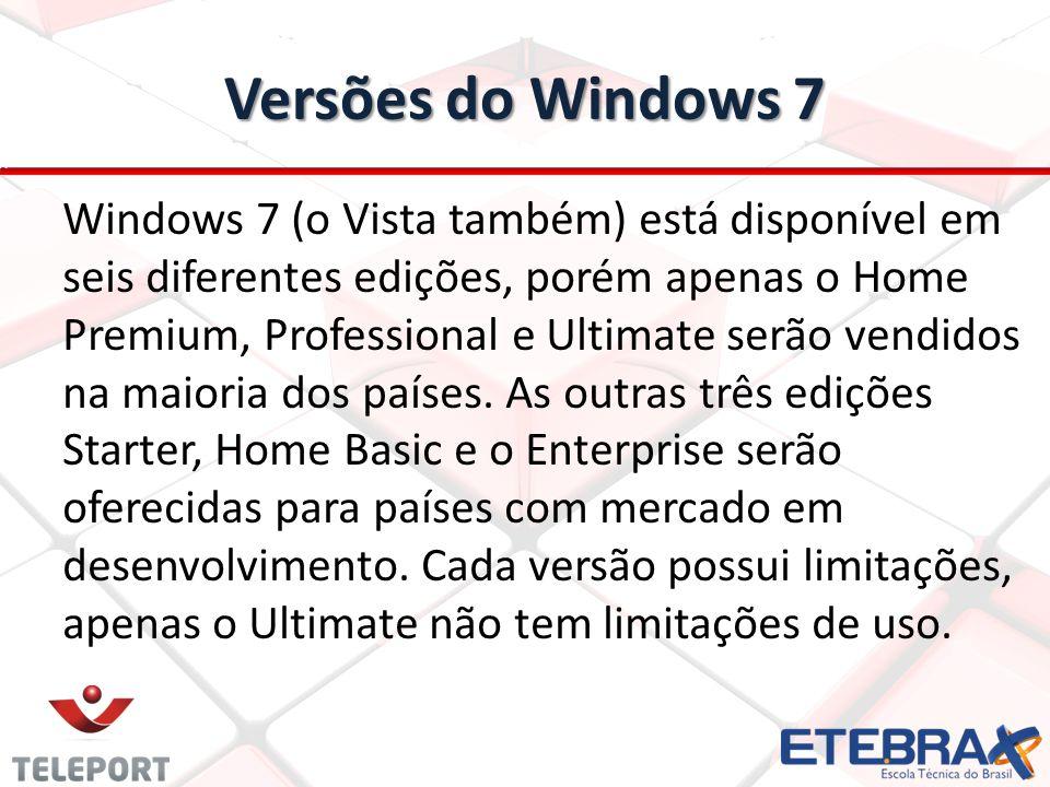 Versões do Windows 7