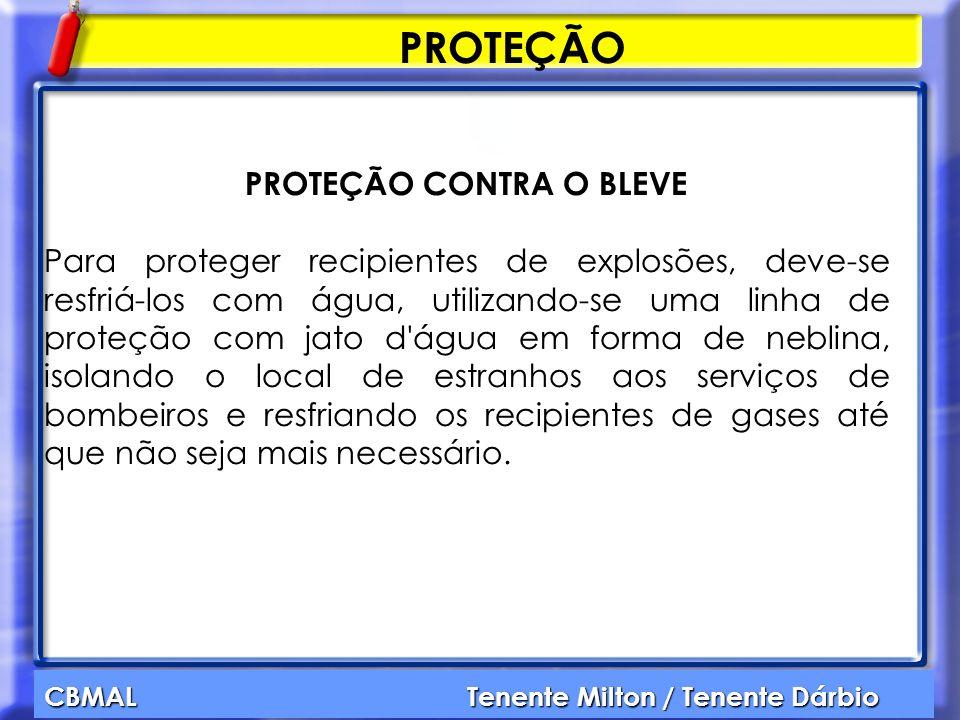 PROTEÇÃO CONTRA O BLEVE