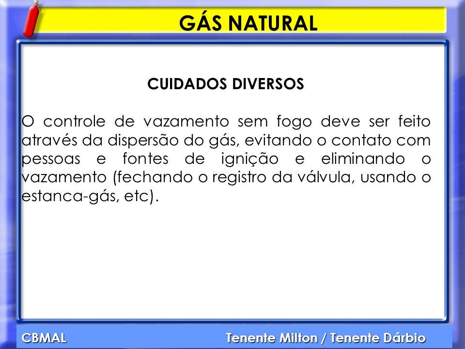 GÁS NATURAL CUIDADOS DIVERSOS