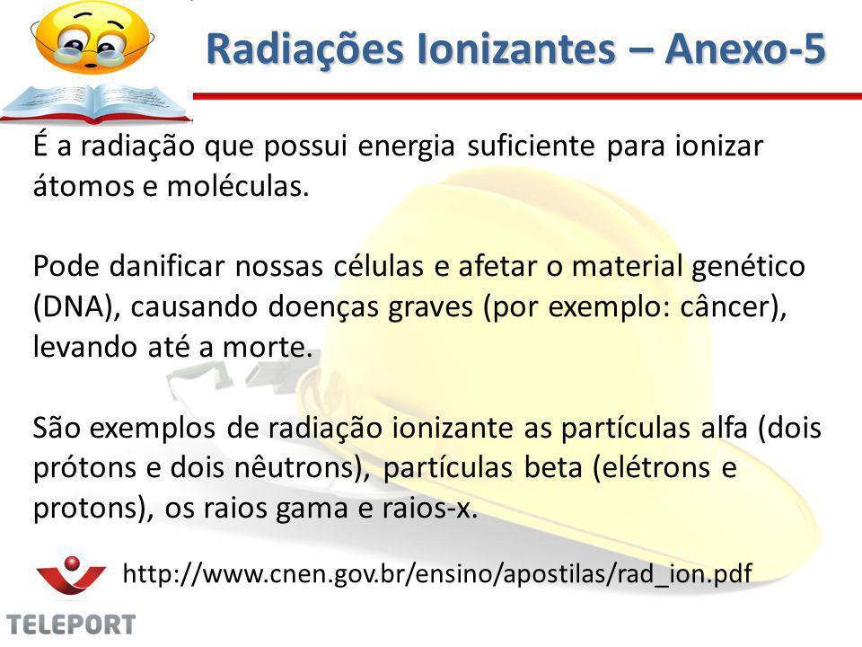 Radiações Ionizantes – Anexo-5