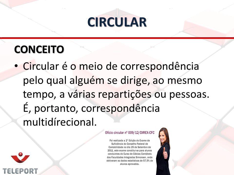 CIRCULAR CONCEITO.