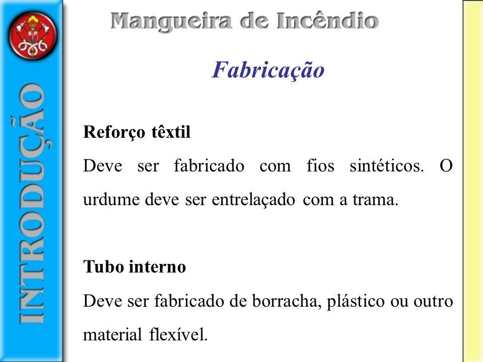Fabricação Reforço têxtil