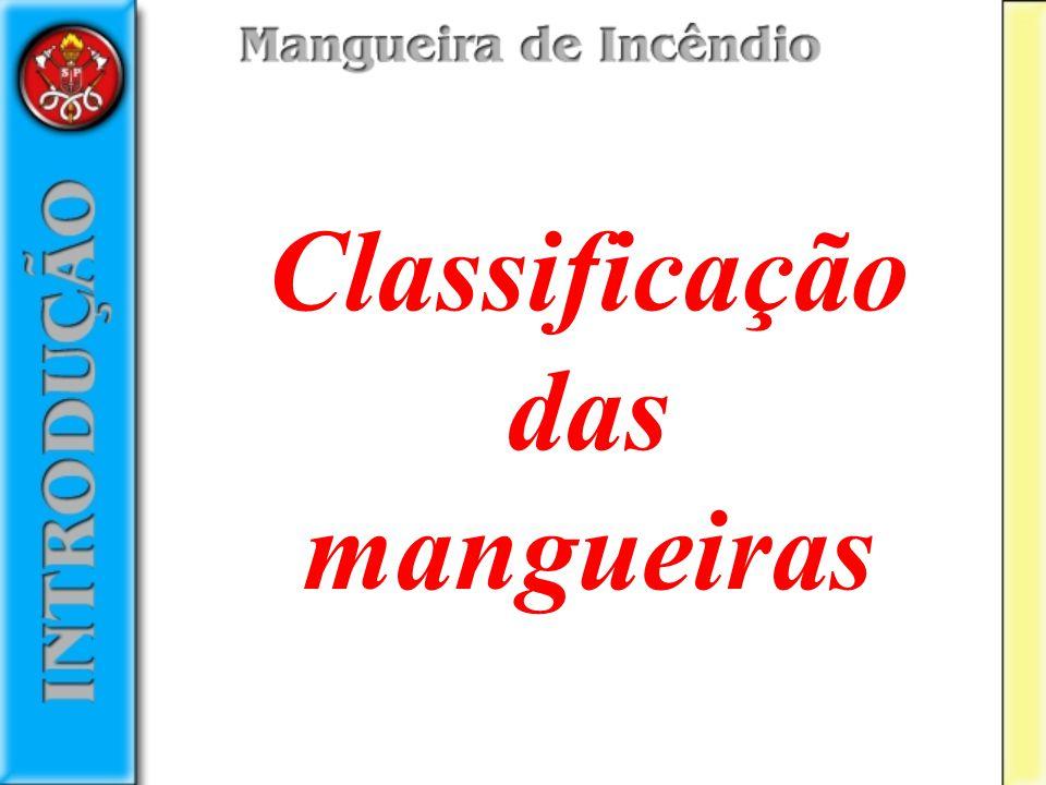 Classificação das mangueiras