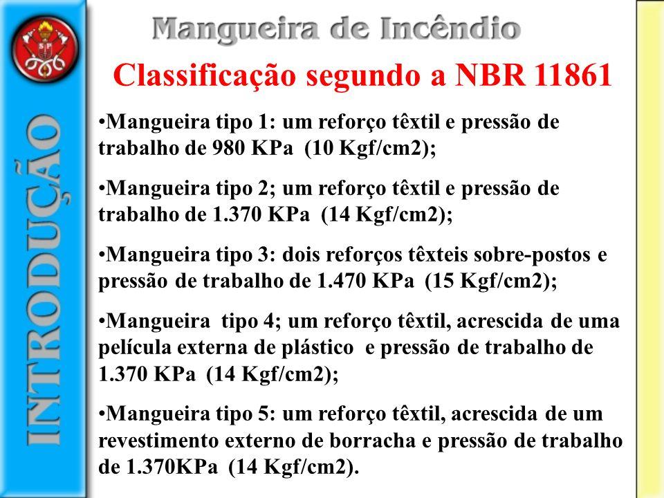 Classificação segundo a NBR 11861