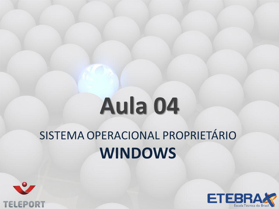Sistema operacional proprietário Windows