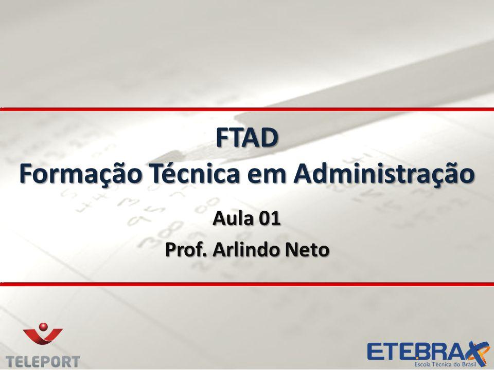 FTAD Formação Técnica em Administração