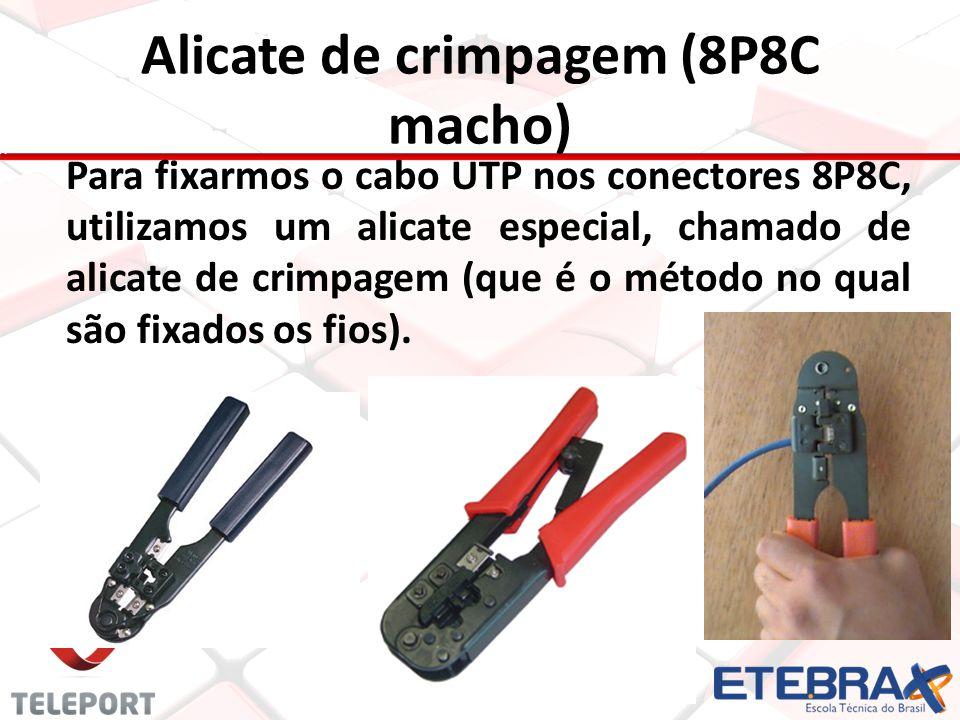 Alicate de crimpagem (8P8C macho)