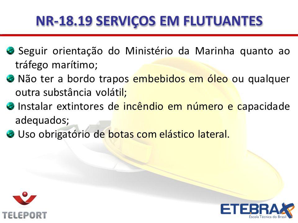 NR-18.19 SERVIÇOS EM FLUTUANTES