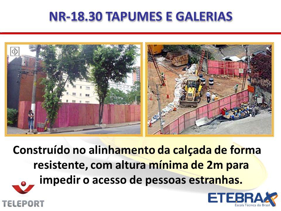 NR-18.30 TAPUMES E GALERIAS