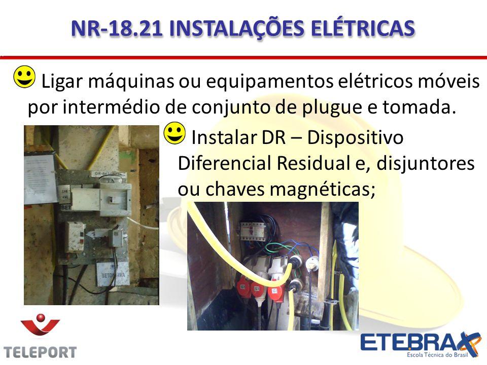 NR-18.21 INSTALAÇÕES ELÉTRICAS