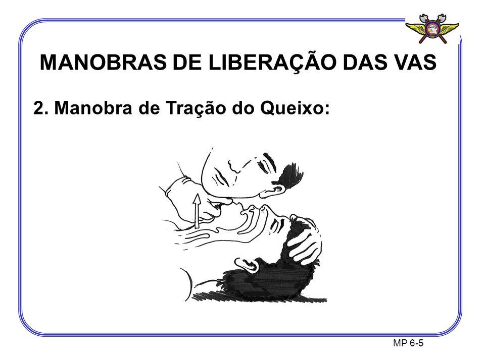 MANOBRAS DE LIBERAÇÃO DAS VAS