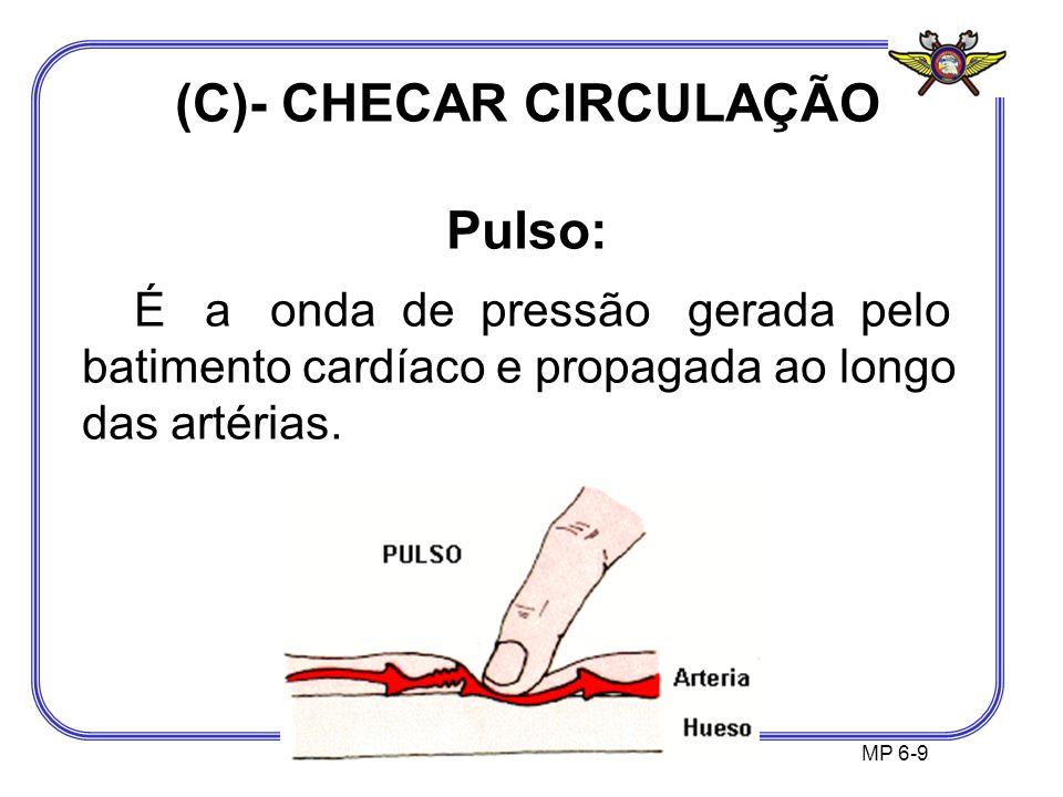 (C)- CHECAR CIRCULAÇÃO