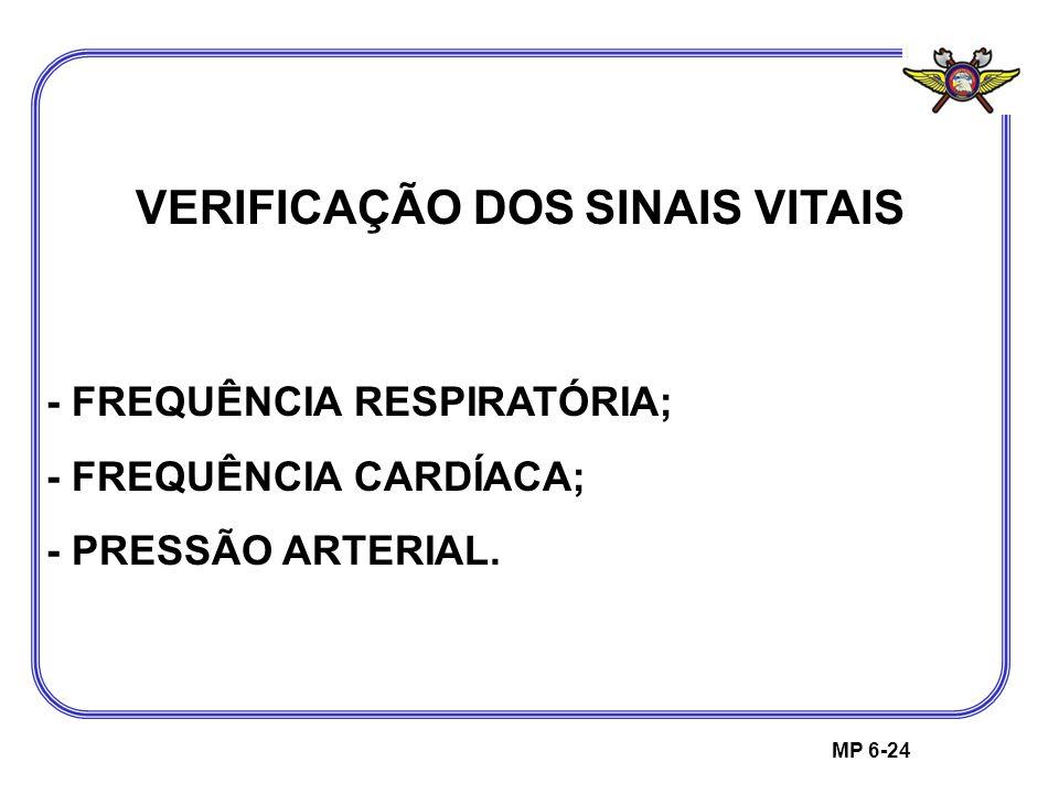 VERIFICAÇÃO DOS SINAIS VITAIS