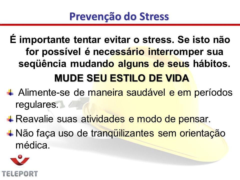 Prevenção do Stress
