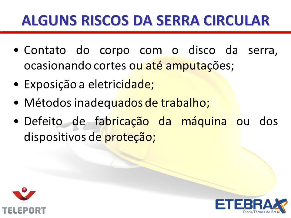 ALGUNS RISCOS DA SERRA CIRCULAR