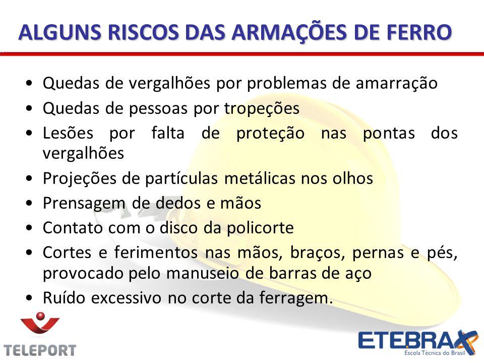 ALGUNS RISCOS DAS ARMAÇÕES DE FERRO