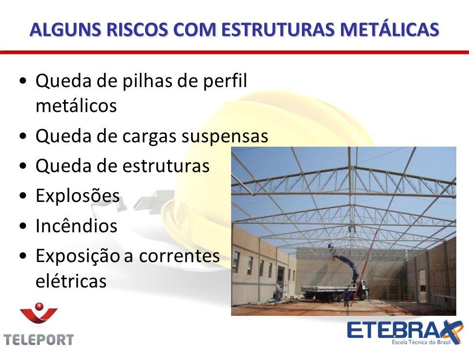 ALGUNS RISCOS COM ESTRUTURAS METÁLICAS