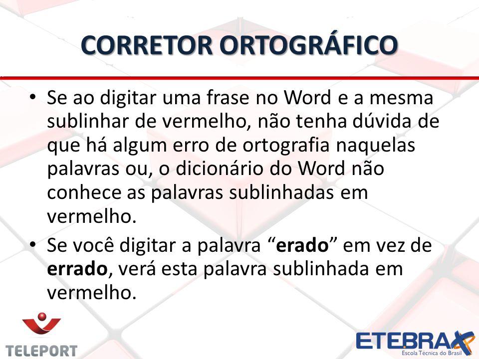 CORRETOR ORTOGRÁFICO