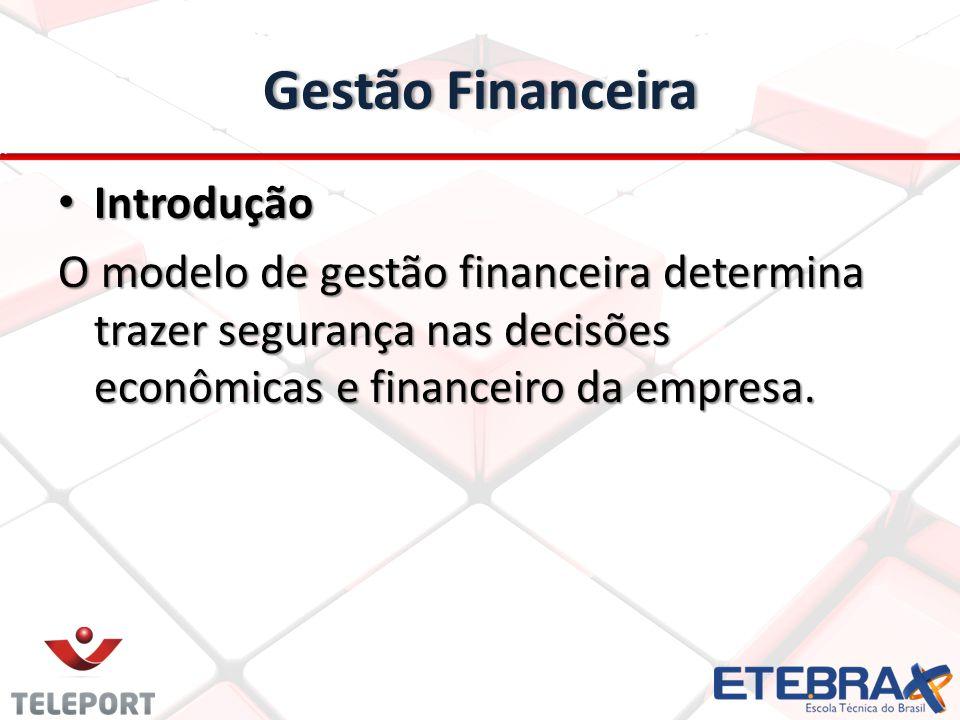 Gestão Financeira Introdução