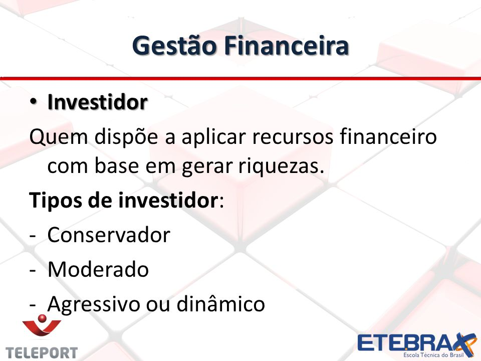 Gestão Financeira Investidor