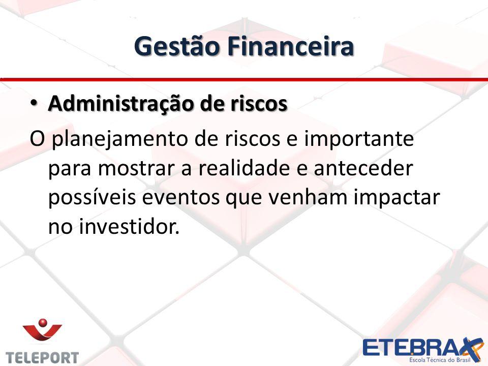 Gestão Financeira Administração de riscos