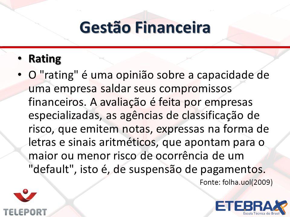 Gestão Financeira Rating
