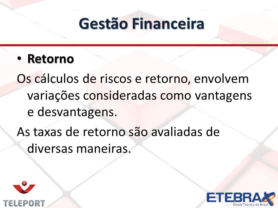 Gestão Financeira Retorno