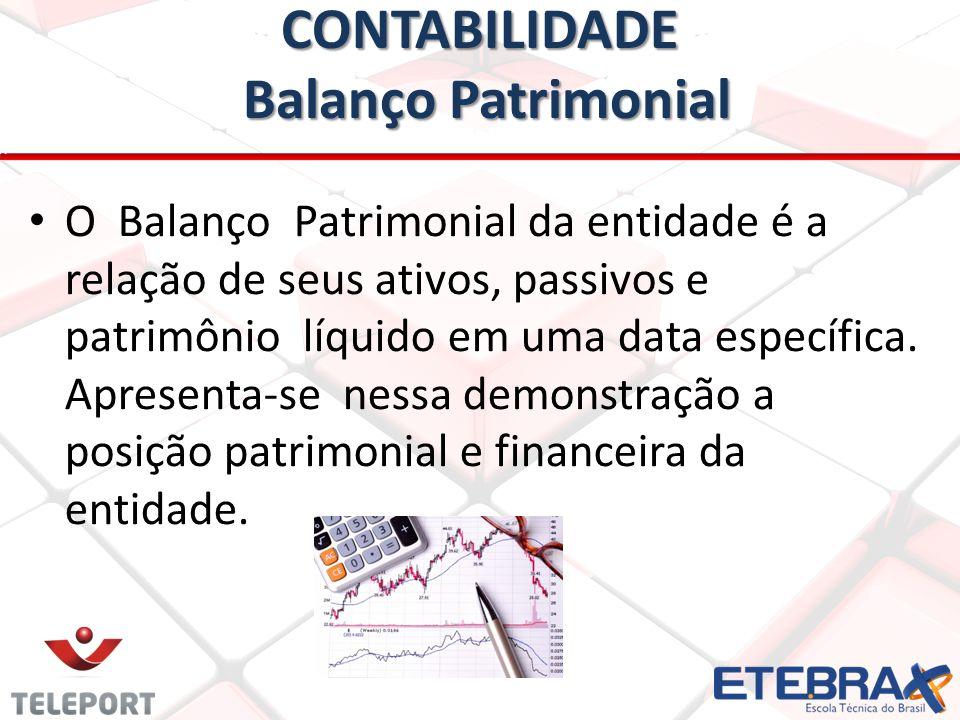 CONTABILIDADE Balanço Patrimonial