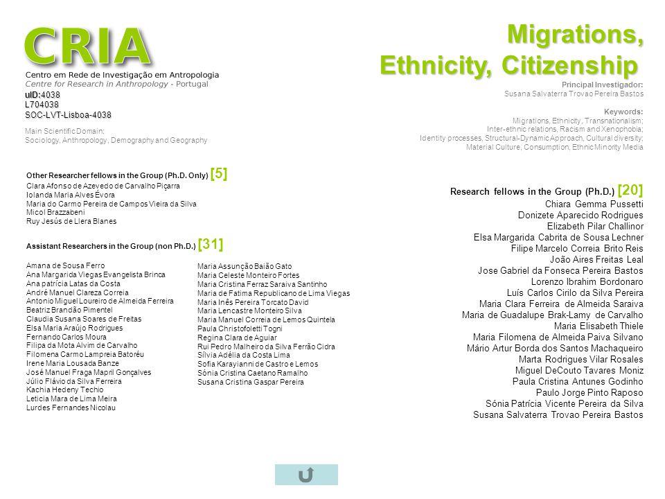 Ethnicity, Citizenship