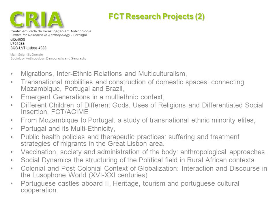 FCT Research Projects (2)